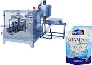 China Customized Premade Bag Packing Machine , Automatic Spouted Liquid Doypack Packaging Machine on sale