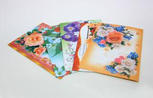 China CMYK Color Art Paper Custom Envelope Printing Services International Standard on sale