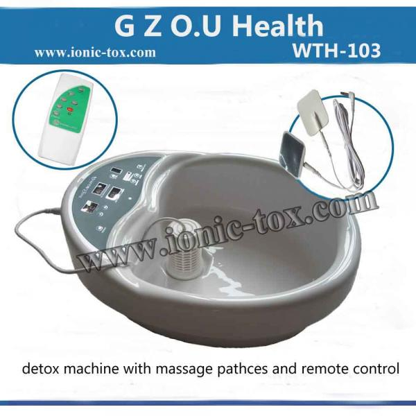 Ionic Foot Detox Spa Machine With Massage Patches For Pain And Stress Relief For Sale Foot Spa Manufacturer From China 91999092