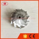 CT26 47.10/63.40mm 11+0 blades Turbo aluminum 2618/milling/Billet compressor wheel for racing