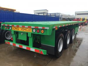 China Flatbed container semi trailer on sale