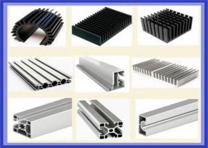 China Automobile 6005 Extruded Aluminium Profiles, Anti Corrosion Extruded Aluminum Shapes on sale