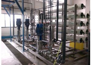 China A água quente de tela de toque de HMI esteriliza o tratamento da água de EDI para a farmácia 15m3/h on sale