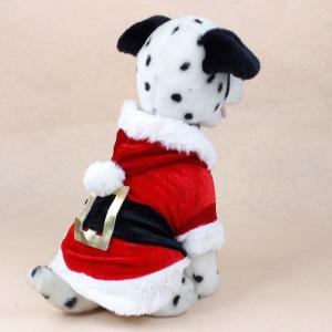 China Pet XMAS Christmas dog clothes XS S M L santa outfits for medium dogs on sale