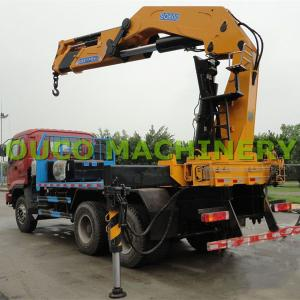 China Hot Sales 30T Knuckle and Telescopic Boom Lorry Mounted Cranes on sale