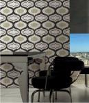 Tamaño y diseño modificados para requisitos particulares de cristal reciclados del modelo de mosaico de la teja de mosaico de la sala de estar