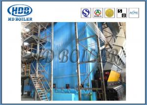Quality Industrial Self Supporting Corner Tube Boiler With Natural Circulation Cooling for sale