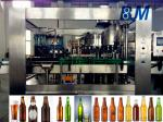 Soda Water / Beverage Filling Equipment , 500ml Industrial Filling And Capping Machine
