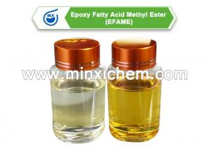 China Transparent light yellow 99.5% purity Epoxy Fatty Acid Methyl Ester EFAME plasticizer usage for PVC soft products CAS NO on sale