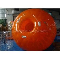 Full Orange Inflatable Zorb Ball Rolling Human Bubble Ball Suit  3.0m x 2.0m