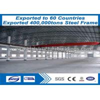Long Span Prefab Steel Frame Erection Formed Building Muti Floor Seriously Painted