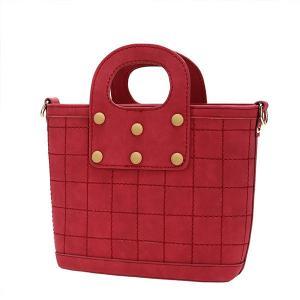 China Red and gray pu Handbag ladies Fashion handbags bolsas femininas bolsas para dama on sale