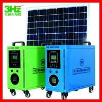 100W solar power system