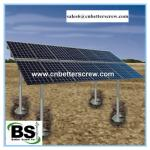 Hot-dip Galvanized Helical Piles for Solar Power System