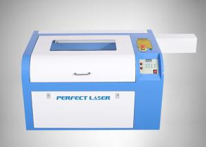 China Leather And Glass Co2 Laser Engraver , Co2 Laser Cutting Machine With Water Cooling System on sale