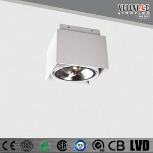 China QR111 Surface Mounted LED Ceiling Light  G53 SquareWith Pure Aluminum Body on sale