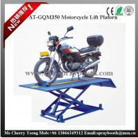 China AT-GQM350 Motorcycle Lift,CE Approved 1000lbs Motorcycle Lift Platform,motorcycle lifter on sale