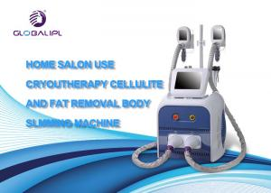 China Spa Slimming Machine Cryo + Cavitation + RF Machine Skin Tighten Treatment on sale