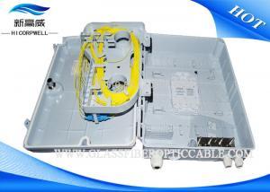 China FTTH Plastic Fiber Optic Fiber Termination Kits 1x16 Splitter Distribution Box on sale