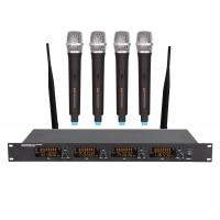 China UHF Four Channel wireless microphone on sale