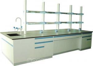 China All Steel Structure Modular Laboratory Furniture Physical Lab Bench on sale