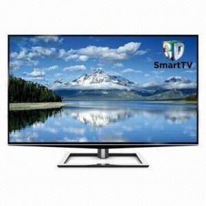 China 3D LED TV, Super HD 55-inch Smart TV on sale