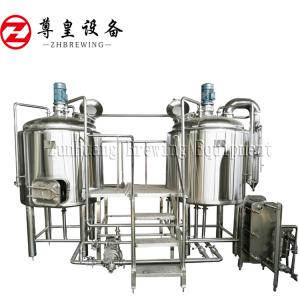 China Adjustable 100L Beer Production Line , Nano Brewery Equipment For Restaurant on sale