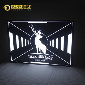 China Hot Sell Hollow Out Light Box Stainless Still Hollow Light Box Signs on sale