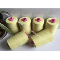 High Tensile Strength Fire Resistant Sewing Thread 20S/3 For Nomex Dust Filter Bag Making
