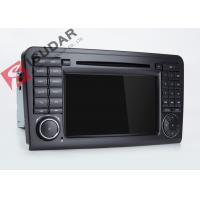 China Mercedes Benz Car Audio Gps Navigation , Mercedes Ml Dvd Player With Dual CANbus on sale