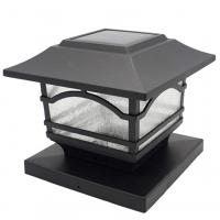 China Automatic Post Cap 4x4 60W LED Solar Garden Lanterns on sale