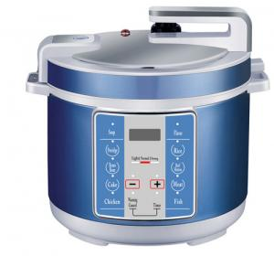 China 5/6L Electric Pressure Cooker with High Quality Multi Function Blue Color (ZH-A07B) on sale