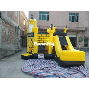 China 5 * 5 * 4.5 m Colorful Inflatable Combo Bouncers Jumping Castle With En 14960 on sale
