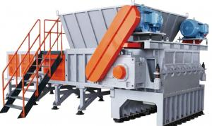 China Heavy Single Shaft Polystyrene Plastic Recycling Shredder on sale