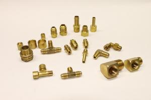China Air Hose Connector Brass Hose Barb Brass Valve Fittings Forged Technics on sale