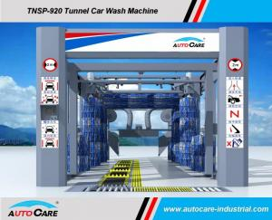 China Automatic Tunnel Car Wash Equipment hot sale to India carwash/Belt Conveyor Tunnel car washing Machine with tyre brushes on sale