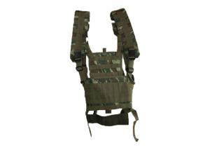China Safty Gear Military Tactical Vest , 3 Magazine Pouches Tactical Shooting Vest on sale