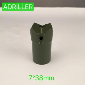 China Compact Structure Taper Button Bit , Small Rock Drill Bits OEM ODM on sale