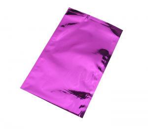China Purple Colored Aluminum Foil Vacuum Sealer Bags , Aluminum Foil Envelopes on sale
