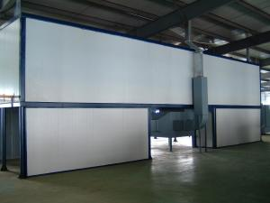 China Overhead Conveyor Powder Coating Oven / Tunnel Oven For Continuous Curing / Drying on sale