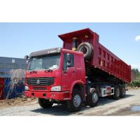 China famous HOWO 8*4 LHD/RHD 40tons dump tipper truck for sale, factory sale best price SINO TRUK HOWO tipper truck