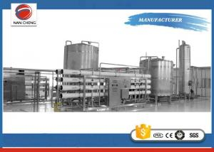 China Industrial Water Treatment Systems RO Water Purification Equipment PLC Control on sale