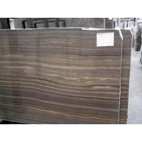 Hottest Dark Colour Wood Marble, Popular Polished Obama Wooden Marble New Product On selling