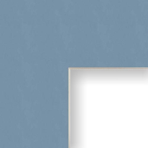 30x42 Mat Board Picture Frame Matting Custom Cut Bay Blue For Sale