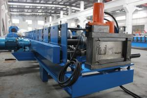 China Solar Stents Cold Roll Forming Machine Color Coated 380V 3 Phase 50Hz on sale