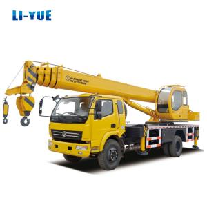 China Hot Sale Brand New High Quality Factory Price 6 Ton Hydraulic Pickup Truck Crane with Basket in Indonesia Market on sale