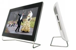 China  2GB   7 LCD Digital Photo Frame with  FM radio X-0102B  support Music format OGG on sale