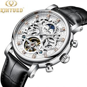 China KINYUED New Style Watches Men Luxury Watch Movement Mechanical Watch Mechanical Tourbillon on sale