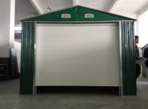 Sunor Modular 0 6mm Zinc Steel Metal Single Car Garage With Shutter