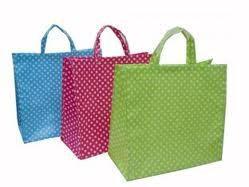 China recyclable Non Woven , spun polypropylene custom printed reusable shopping grocery bags on sale